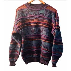 Vintage men's biggie Cosby COOGI style sweater
